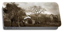 Santa Barbara Mission California Circa 1890 Portable Battery Charger