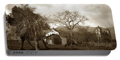 Santa Barbara Mission California Circa 1890 Portable Battery Charger