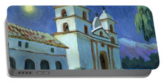 Santa Barbara Mission Moonlight Portable Battery Charger