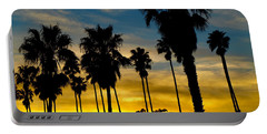 Santa Barbara Sunset Portable Battery Charger