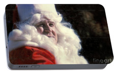 Portable Battery Charger featuring the photograph New Orleans Santa Claus John Goodman In Louisiana by Michael Hoard