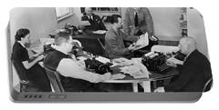 Santa Cruz Newspaper Office Portable Battery Charger