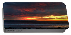 Portable Battery Charger featuring the photograph Santa Cruz Rocks by Michael Gordon
