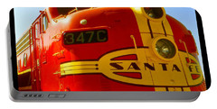 Santa Fe Railroad Color Poster Portable Battery Charger