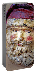 Santa Portable Battery Charger by Lynn Sprowl