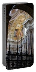 Santa Maria Maggiore Portable Battery Charger by Debi Demetrion