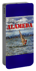 Alameda Santa's Greetings Portable Battery Charger
