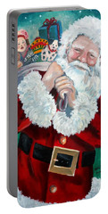 Santa's Coming To Town Portable Battery Charger