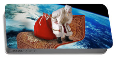 Santa's Flying Carpet Portable Battery Charger