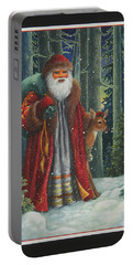 Santa's Journey Portable Battery Charger