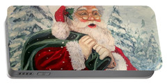 Santa's On His Way Portable Battery Charger