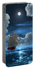 Santisima Trinida In The Moonlight 2 Portable Battery Charger