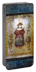 Santo Nino De Atocha Portable Battery Charger by Savannah Gibbs