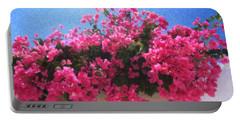 Santorini Flowers Grk1113 Portable Battery Charger