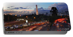 Sao Paulo Skyline - Ibirapuera Portable Battery Charger