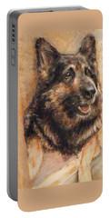 Sasha German Shepherd Portable Battery Charger
