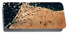 Satellite View Of Mersa Matruh Coastal Portable Battery Charger