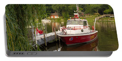 Saugatuck Fire Boat Portable Battery Charger