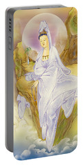 Portable Battery Charger featuring the photograph Sault-witnessing Kuan Yin by Lanjee Chee