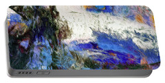 Portable Battery Charger featuring the painting Sausalito by Dominic Piperata