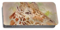Savanna Giraffe Portable Battery Charger