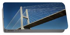 Savannah River Bridge Georgia Usa Portable Battery Charger