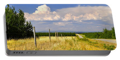 Portable Battery Charger featuring the photograph Sawmill Creek Road by Cathy Mahnke