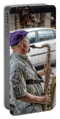 Sax In The Street Portable Battery Charger