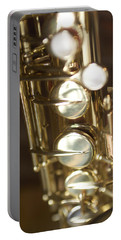 Saxophone Close Up Portable Battery Charger