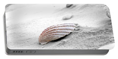 Portable Battery Charger featuring the photograph Scallop Shell by Robert Meanor