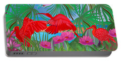 Scarlet Summer Dance - Limited Edition 1 Of 20 Portable Battery Charger