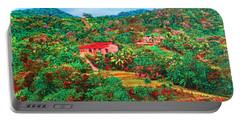 Scene From Mahogony Bay Honduras Portable Battery Charger