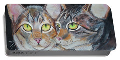 Scheming Cats Portable Battery Charger
