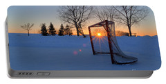 Scoring The Sunset Portable Battery Charger by Darcy Michaelchuk