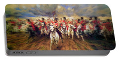 Scotland Forever During The Napoleonic Wars Portable Battery Charger