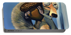 Scrat Of Ice Age Portable Battery Charger