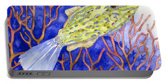 Scrawled Filefish Portable Battery Charger
