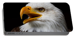 Screaming Bald Eagle Portable Battery Charger
