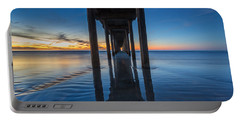 Scripps Pier Blue Hour Portable Battery Charger