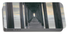 Scripps Pier Into The Pacific Ocean, La Portable Battery Charger