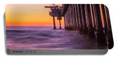 Scripps Pier Sunset Portable Battery Charger