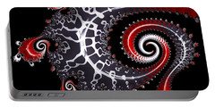 Portable Battery Charger featuring the digital art Sea Dragon by Susan Maxwell Schmidt