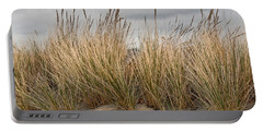 Sea Grass And Sand Portable Battery Charger