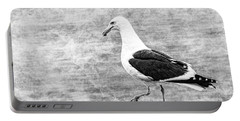 Sea Gull On Wharf Patrol Portable Battery Charger