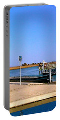 Sea Gulls Watching Over The Wetlands Portable Battery Charger by Amazing Photographs AKA Christian Wilson