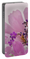 Portable Battery Charger featuring the photograph Sea Lavender Macro  by Sandra Foster