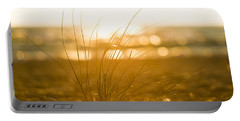 Portable Battery Charger featuring the photograph Sea Oats Sunset by Sebastian Musial