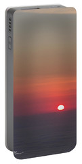 Sea Of Clouds Sunset Portable Battery Charger