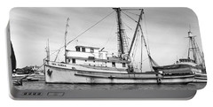 Purse Seiner Sea Queen Monterey Harbor California Fishing Boat Purse Seiner Portable Battery Charger