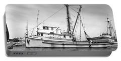 Purse Seiner Sea Queen Monterey Harbor California Fishing Boat Purse Seiner Portable Battery Charger